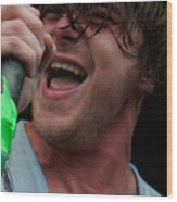Anthony Green Of Circa Survive Wood Print