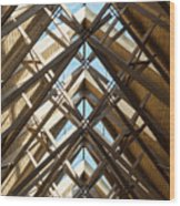Anthony Skylights Wood Print