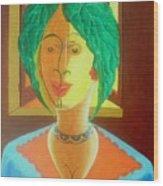 Anthrovase Wood Print