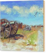 Antietam Under Blue Skies  Wood Print