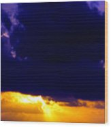Antigua Sunrise Wood Print