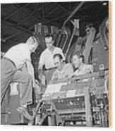 Antineutron Discovery Team, 1956 Wood Print