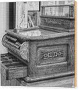 Antique Cash Register Wood Print