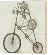 Antique Contraption Wood Print