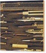 Antique Draftsman Set Wood Print