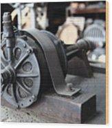Antique Electric Wood Print