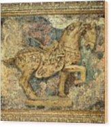 Antique Equine 2 Wood Print