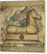 Antique Equine Wood Print