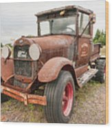 Antique Ford Wood Print