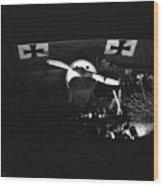 Antique German Warplane Wood Print