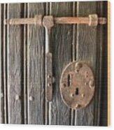 Antique Hardware  Wood Print