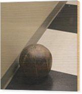 Antique Medicine Ball Wood Print