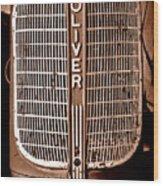 Antique Oliver 70 Wood Print