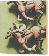 Antique Race Wood Print