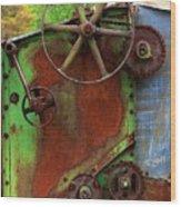Antique Thrasher Wood Print