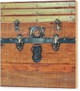 Antique Trunk Wood Print