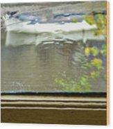 Antique Window - Amsterdam Wood Print