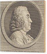 Antoine De Parcieux Wood Print