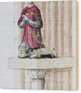 Antoine Des Essarts Wood Print by Granger