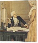 Antoine-laurent Lavoisier Wood Print