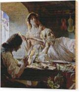 Antonio Stradivari Wood Print