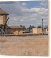 Antonito Colorado Tank And Station Wood Print