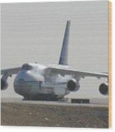 Antonov An 124 Cargolifter Plane Aircraft Wood Print