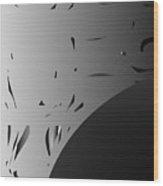Any-mood Pixels 23. Wood Print