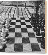 Anyone For Chess Wood Print