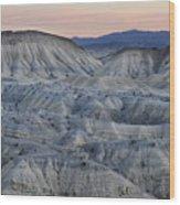 Anza-borrego Landscape Wood Print