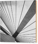 Anzac Bridge Wood Print