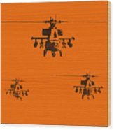 Apache Dawn Wood Print