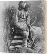 Apache Leader, 1885 Wood Print
