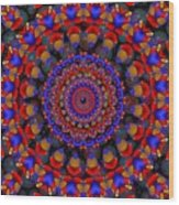 Apache  Wood Print
