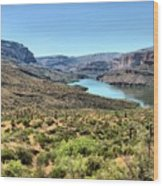 Apache Trail - Salt River - Arizona Wood Print
