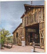 Apacheland Wood Print