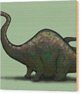 Apatosaurus  Wood Print