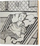 Apendicitis Wood Print