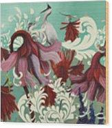 Aphrodite's Garden Wood Print
