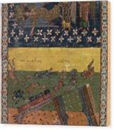 Apocalypse: Babylon Wood Print