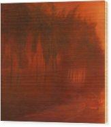 Apocalypse Dawn Wood Print