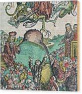 Apocalypse, Nuremberg Chronicle, 1493 Wood Print