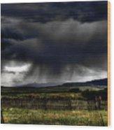 Apocalyptic Wood Print