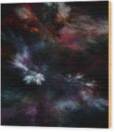 Apocalyptical Dawn Wood Print
