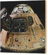 Apollo 11 Lunar Lander Wood Print