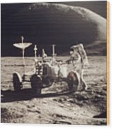 Apollo 15, 1971 Wood Print