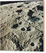 Apollo 15: Moon, 1971 Wood Print