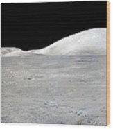Apollo 17 Panorama Wood Print