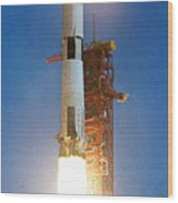 Apollo Eleven Wood Print