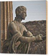 Apollo In Pompeii Wood Print
